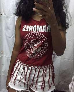 Ramones Band shirtless top