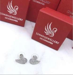 Anting angsa SWAROVSKI DIAMOND