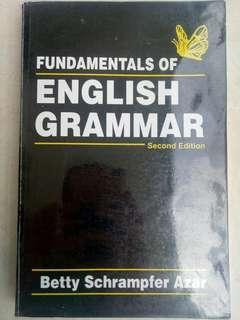 Fundamentals of English Grammar (Second Edition) - Betty Schrampfer Azar