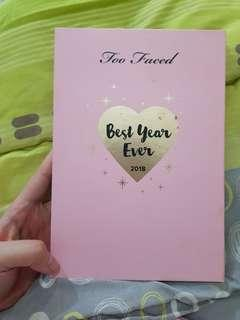 eye shadow palette too faced