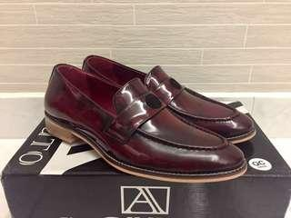 Brand New Mens Leather Shoes Loafers (Belt option)