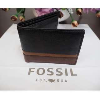 Fossil Easton RFID Men Wallet Purse (New) Original Authentic