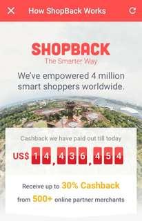 Earn Cashback As You Shop Online