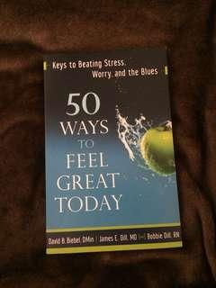Book: 50 ways to feel great today