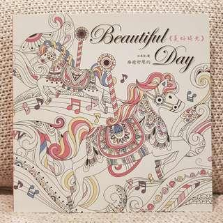 🚚 Beautiful Day Colouring Book