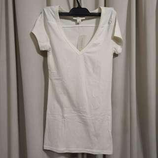 🚚 Forever 21 Creamy Ivory Top blouse shirt