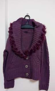 #半價衣服拍賣會全新針織毛絨外套