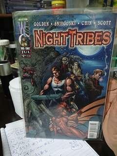 Night Tribes 1 Wildstorm Comics