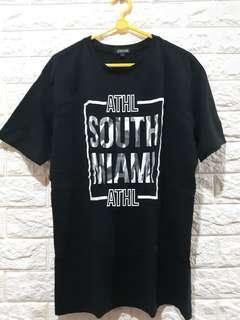 """T - Shirt (baru) Hitam """"South Miami"""""""