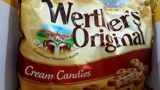 🚚 🎉現貨特價!Werther's Original偉特  原味鮮奶油糖 偉特糖 1000公克-吉兒好市多COSTCO代購