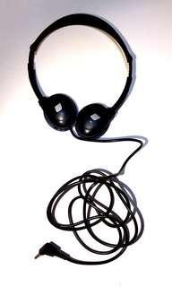 🈹塑膠頭戴式硬殼耳機無海綿能調教可調節長度頭圍