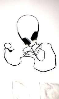 幼金屬頭箍大海綿軟墊隔音耳機塑膠 頭戴式兒童能調教可調節長度頭圍