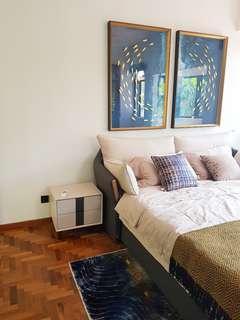Hip Co living space in Landed House at Telok Kurau