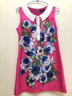 🚚 (幫媽媽賣系列)桃粉色背心洋裝