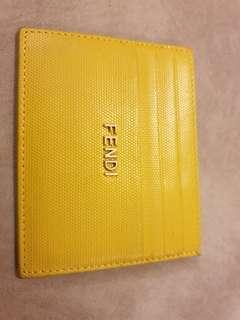 Fendi Name card holder