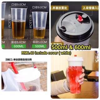 Plastic & paper cup