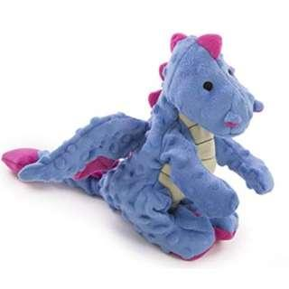 🚚 Authentic BN Periwinkle Blue Large GoDog Dragons with Chew Guard Technology