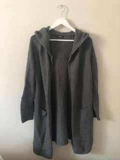 tna dorset hooded cardigan size xs