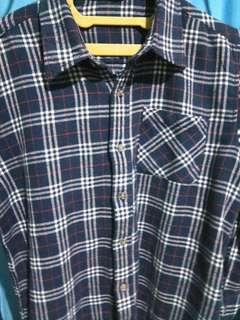 Kemeja flanel/ flannel not uniqlo, h&m