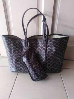 Authentic goyard tote bag