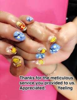 Experienced Manicurist Home Base Nails Services at Blk 461A West Rock @ Bukit Batok West Ave 8