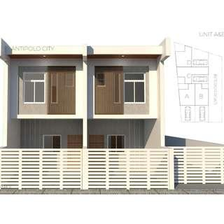 Townhouse Pre Selling in Antipolo near SM Cherry and SM Masinag