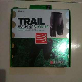 Reduced Trail Running Compression Shorts