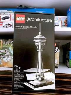 Lego 樂高 Architecture Seattle Space Needle 21003 全新 100% 未開封 MISB