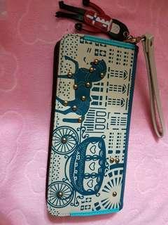 Cartoonland wallet/wristlet.