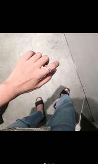 🚚 玫瑰金環鑽戒指💍