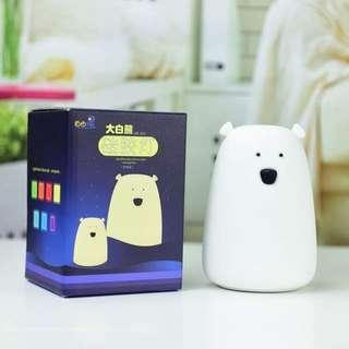 Little Bear Silicone Light