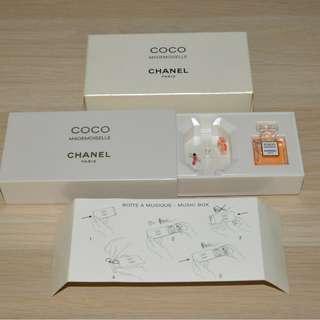 Chanel VIP gift Coco Mademoiselle music box - RARE