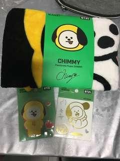 🚚 [WTS] Official Chimmy Flannel blanket and Stickers