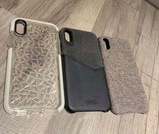 iPhone X phone cases x3