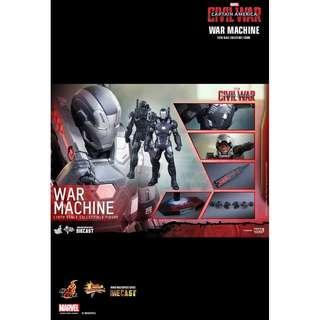 全新啡盒未開 Hottoys Ironman Civil War War Marchine Mark 3 復仇者聯盟2 英雄內戰