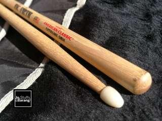 (NEW)VIC FIRTH Extreme 5B Nylon Tip Drumsticks #50TXT