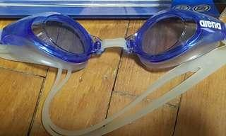 🚚 Adult Arena blue training goggles