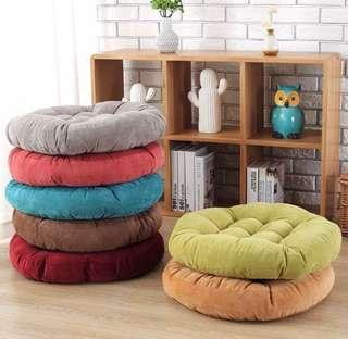 🚚 Round Meditation Cushion Floor Cushion Bay Window Cushion