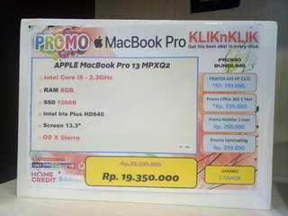 Dijual Laptop Macbook Pro 13 MPXQ2 Bisa Cicilan Tanpa Kartu Kredit