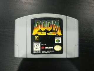 Nintendo 64 - Doom 64 (NTSC US Region)