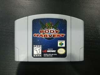 Nintendo 64 - Body Harvest (NTSC US Region)