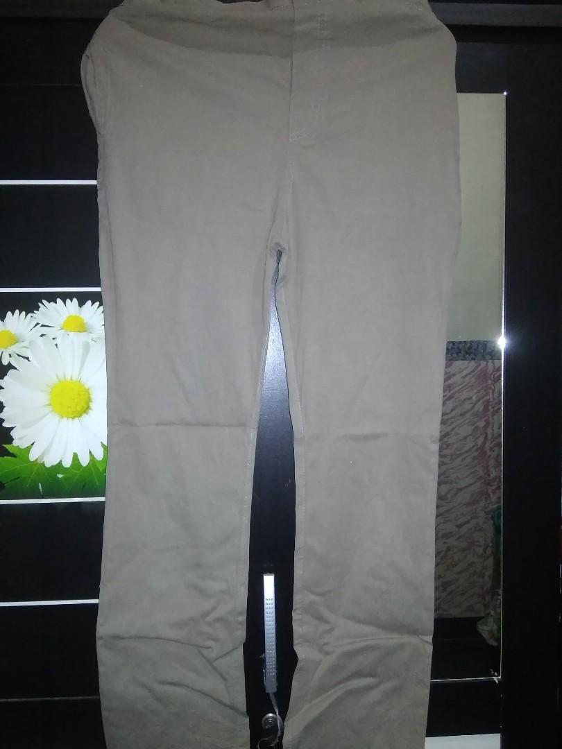 3 Celana Bahan Katun (Celana Hamil)