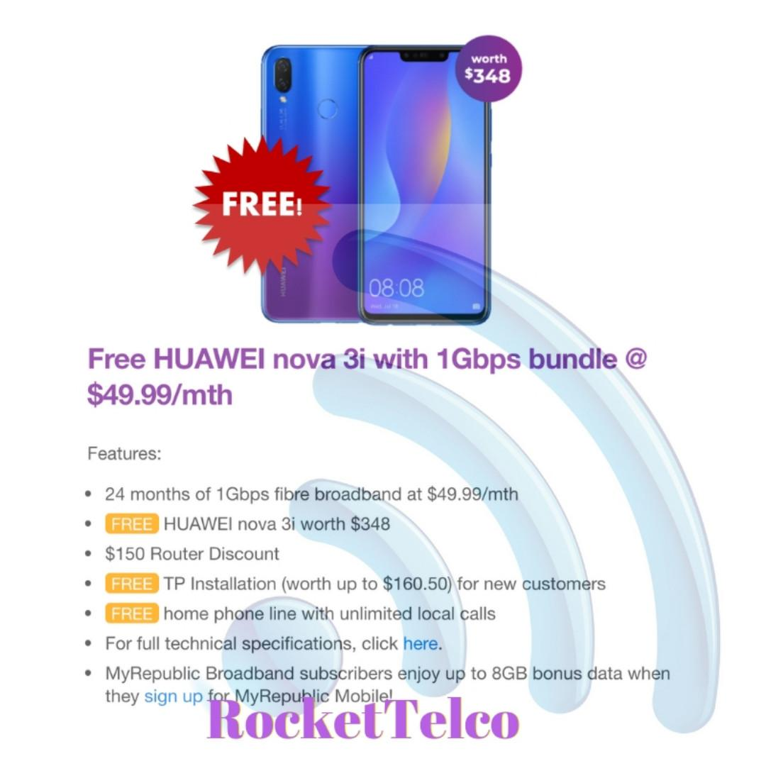 😍 FREE Huawei Nova 3i or FREE PlayStation 4 Pro with