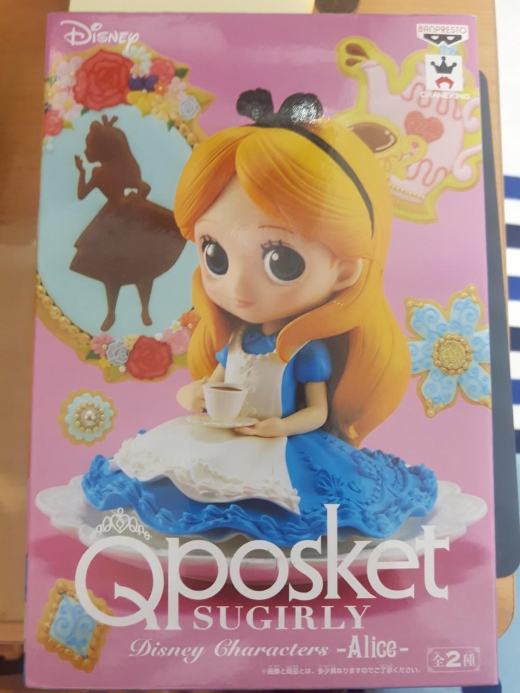 日本正版 Qposket 愛麗絲公仔