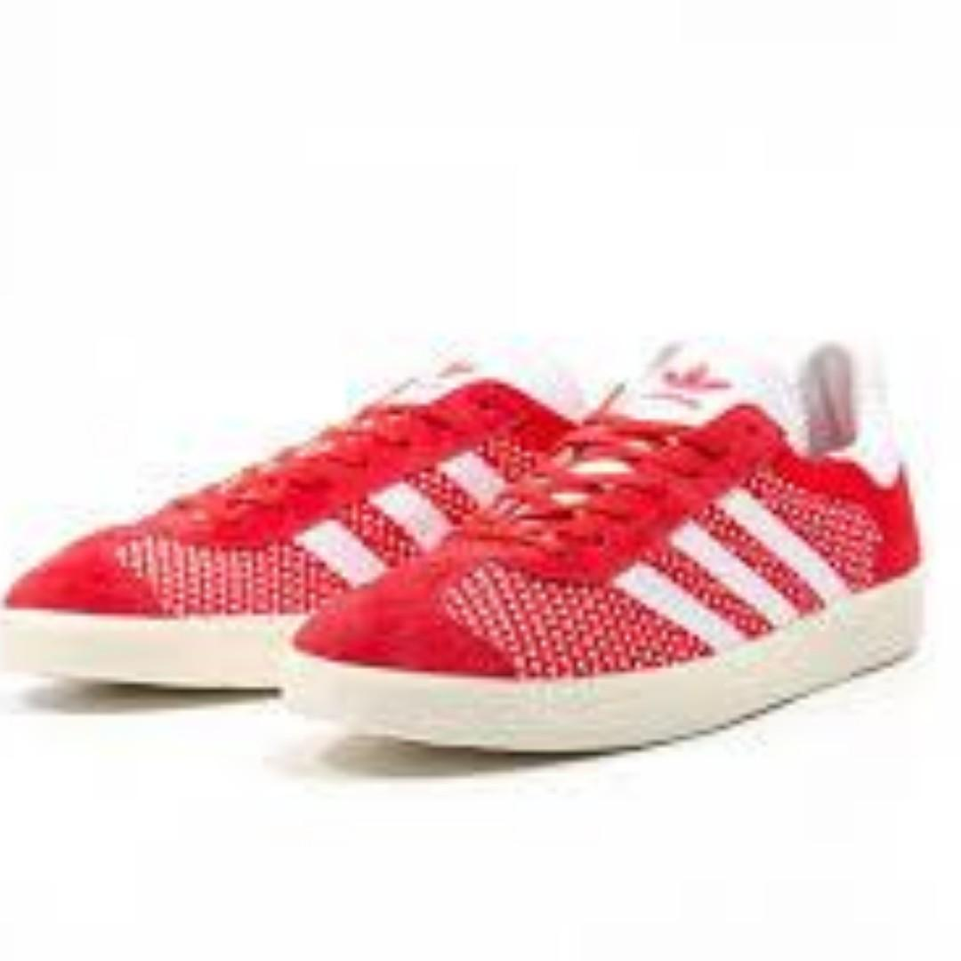 Adidas Gazelle Prime Knit Solar Red Men's US Size 10 11 13
