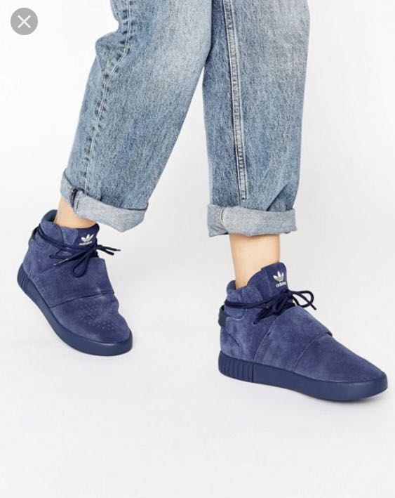 sports shoes c7411 123fa Adidas Originals Tubular Invader Trainers in Onix (Size UK3.5), Women s  Fashion, Shoes, Sneakers on Carousell