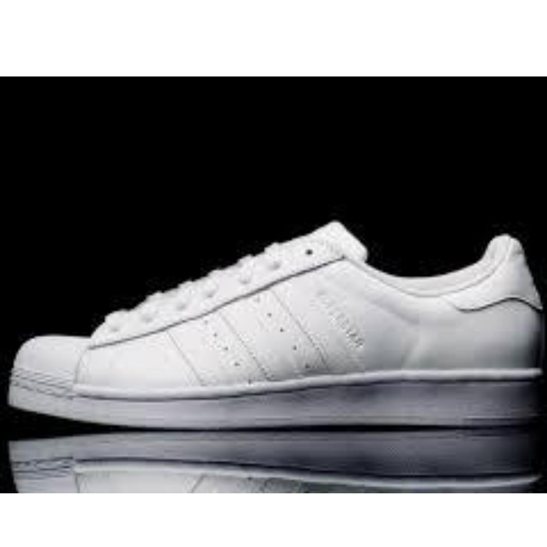 Adidas Superstar Triple White Men's Sneakers