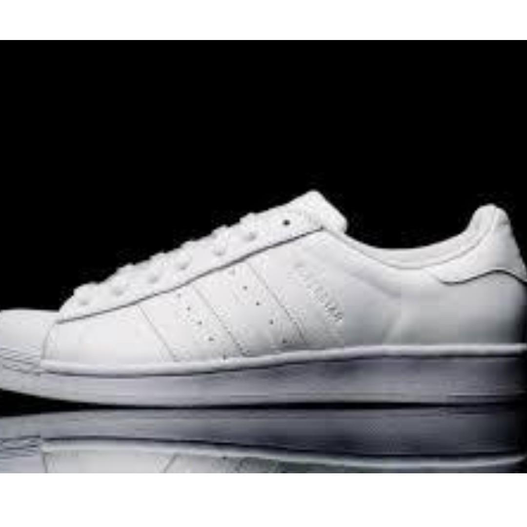 Adidas Superstar Triple White Men's Sneakers