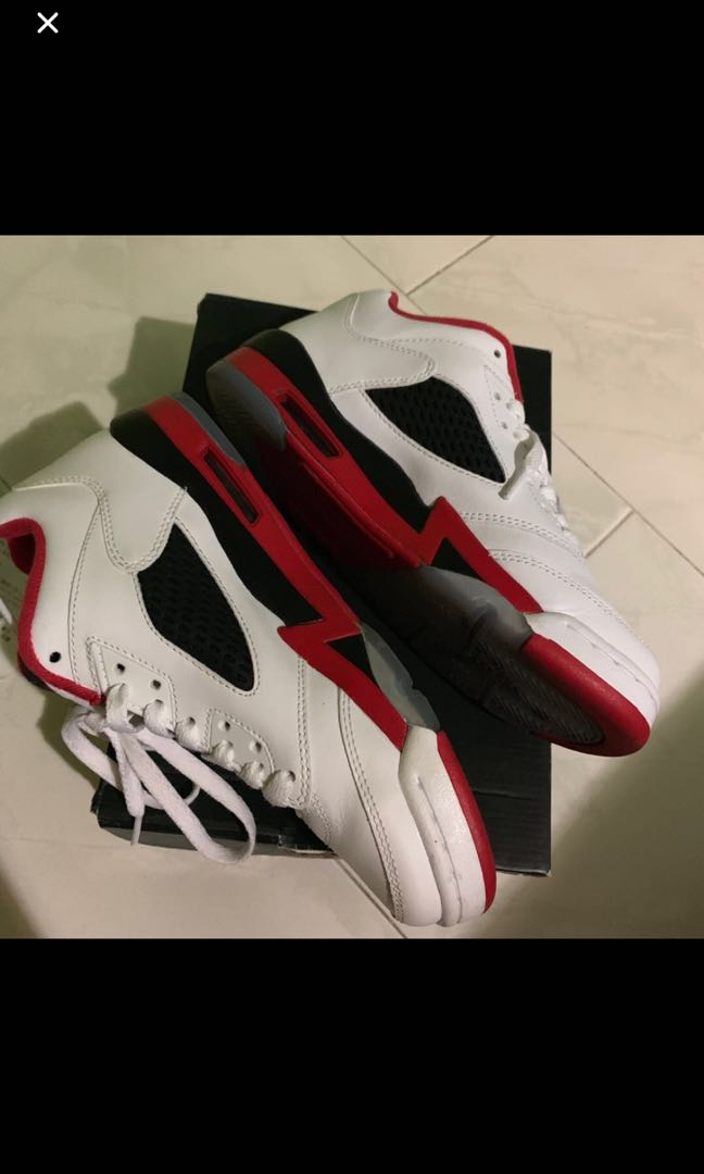 best prices cheapest best selling Air jordan 5 low fire red 6y like new