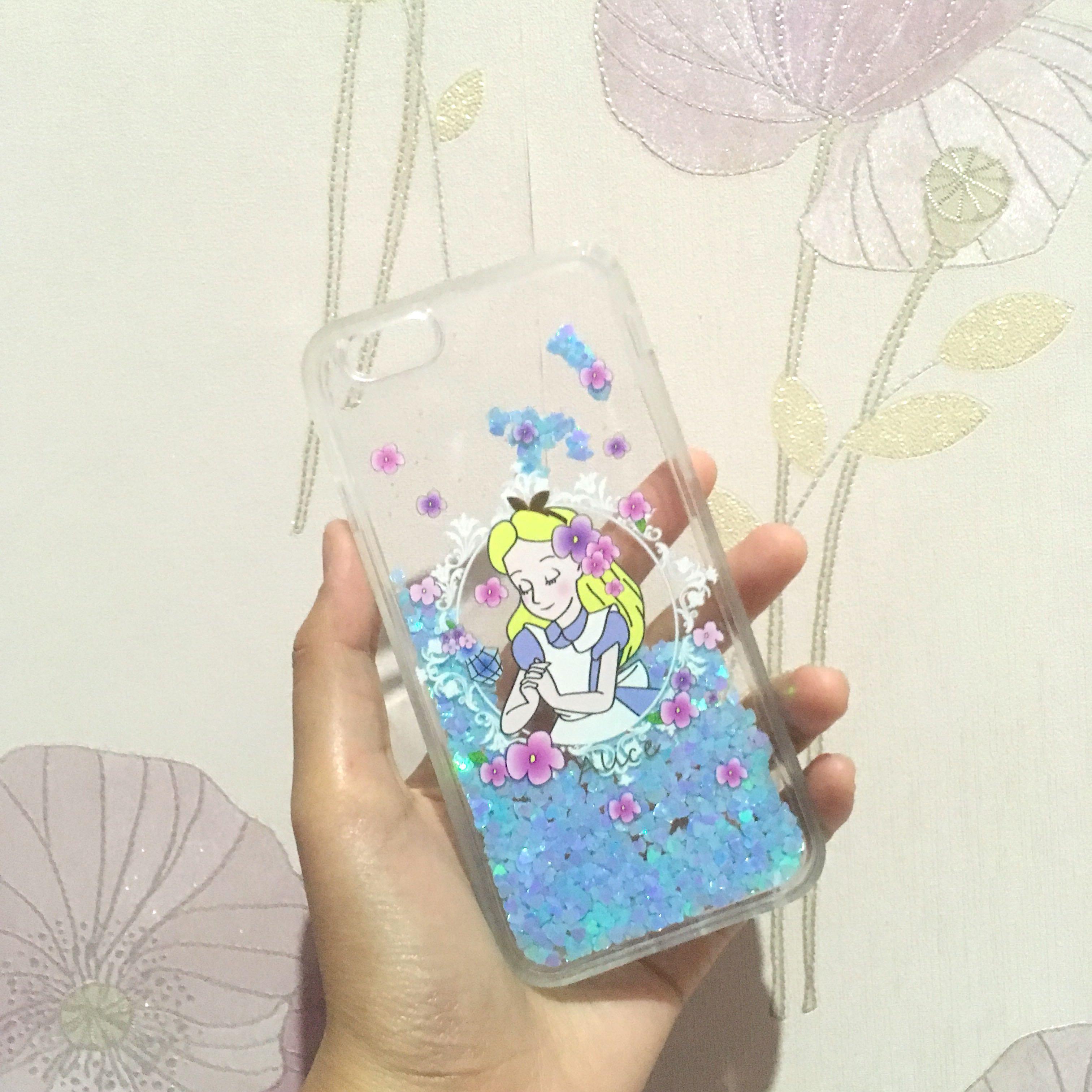 Alice in wonderland iphone 6 6s case quicksand